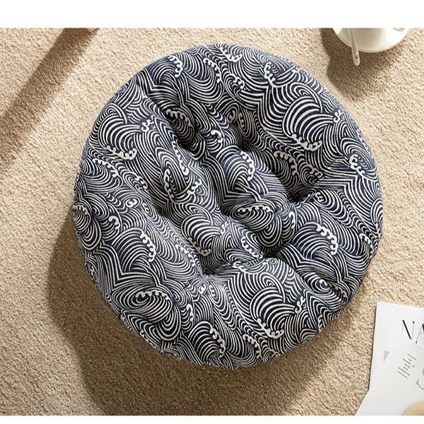Đệm ngồi bệt tròn 40cm kiểu Nhật xinh xắn