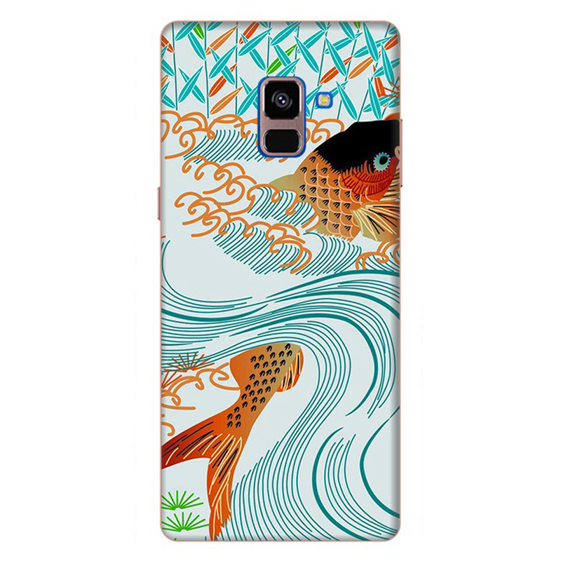 Ốp Lưng Cho Samsung Galaxy A8 Plus 2018 - Mẫu 57