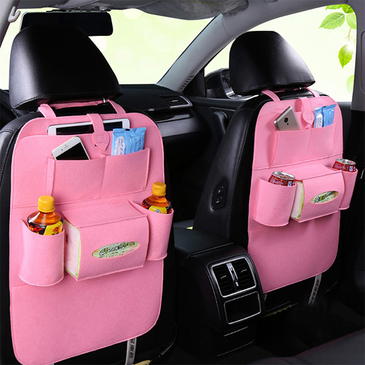 Auto Car Backseat Organizer Car-Styling Holder Felt Covers Versatile Multi-Pocket Seat Wool Felt Storage Container - 1509984 , 6124704968047 , 62_13761882 , 184000 , Auto-Car-Backseat-Organizer-Car-Styling-Holder-Felt-Covers-Versatile-Multi-Pocket-Seat-Wool-Felt-Storage-Container-62_13761882 , tiki.vn , Auto Car Backseat Organizer Car-Styling Holder Felt Covers Ver