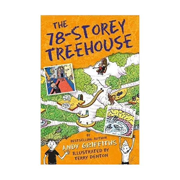 The 78-Storey Treehouse (The Treehouse Books) Paperback