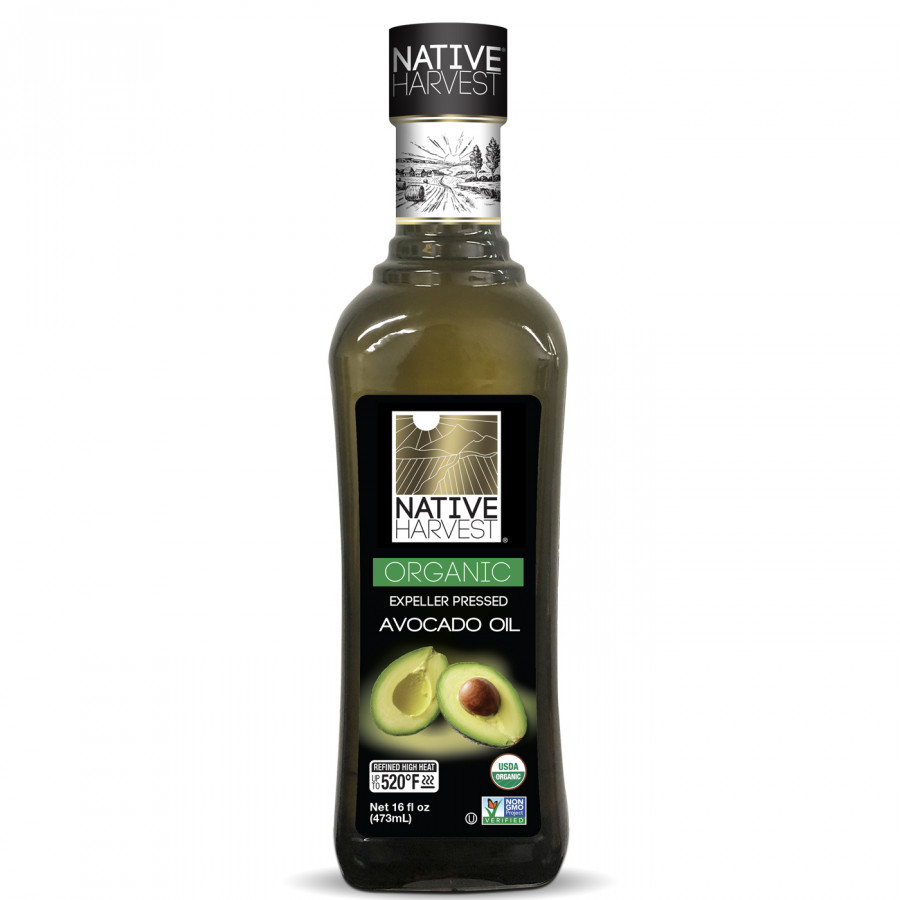Dầu quả bơ Organic 473ml - Hãng Native Harvest nhập khẩu