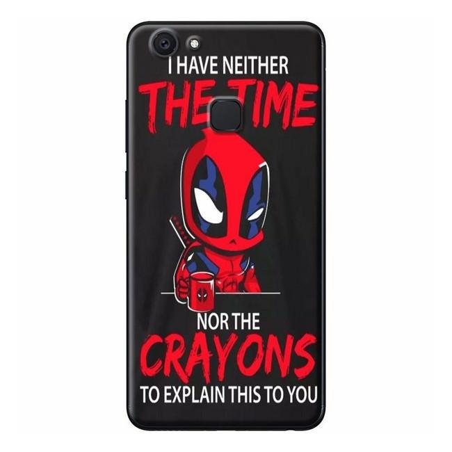 Ốp lưng dành cho điện thoại Vivo V7 - V7 PLUS - Y83 - Poster Deadpool