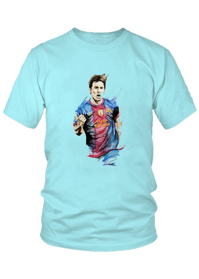 Áo thun nam thời trang VinaBoss Siêu Sao Bóng Đá Messi Mẫu 2