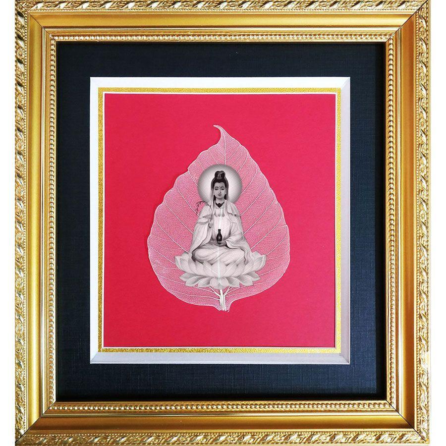 Tranh Phật Quan Âm Trên Là Bồ Đề HPB-2312