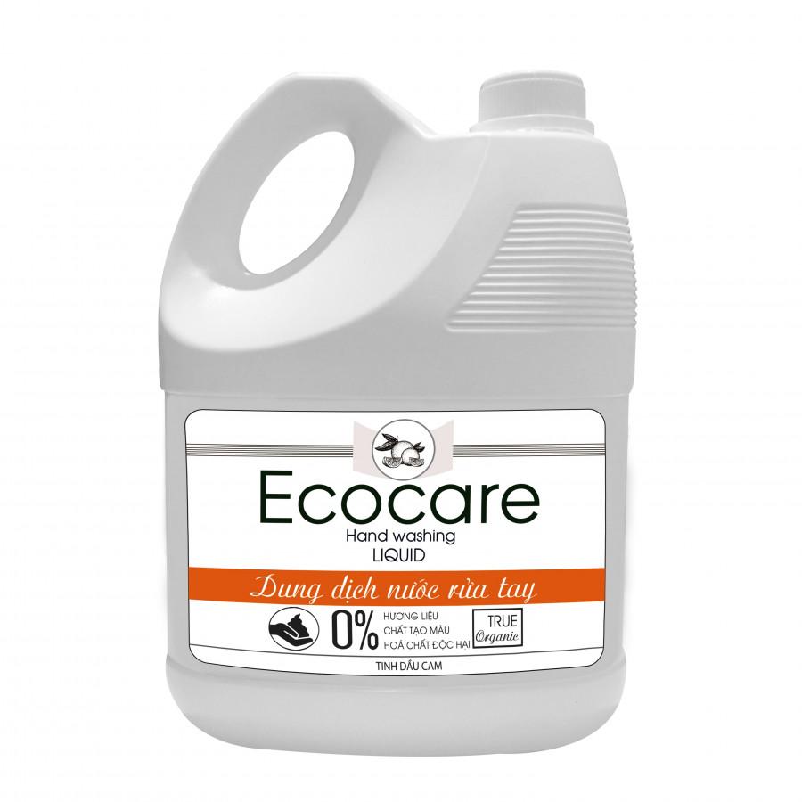 Nước rửa tay hữu cơ diệt khuẩn hương Cam 4000ml