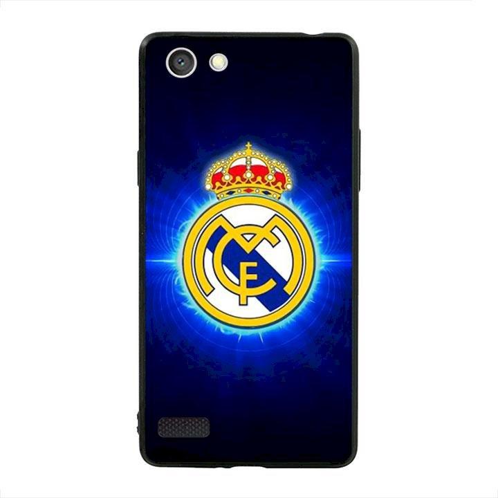 Ốp lưng viền TPU cho dành cho Oppo Neo 7 - Clb Real Madrid 01