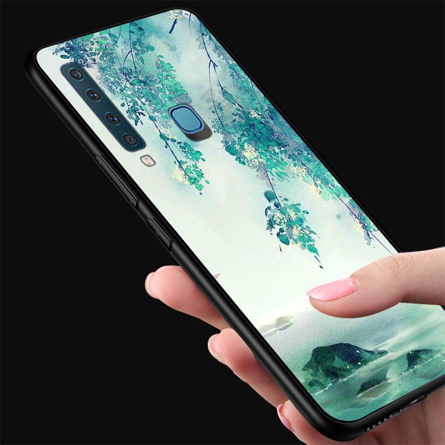 Ốp kính cường lực dành cho điện thoại Samsung Galaxy A9 2018/A9 Pro - M20 - phong cảnh - canh005