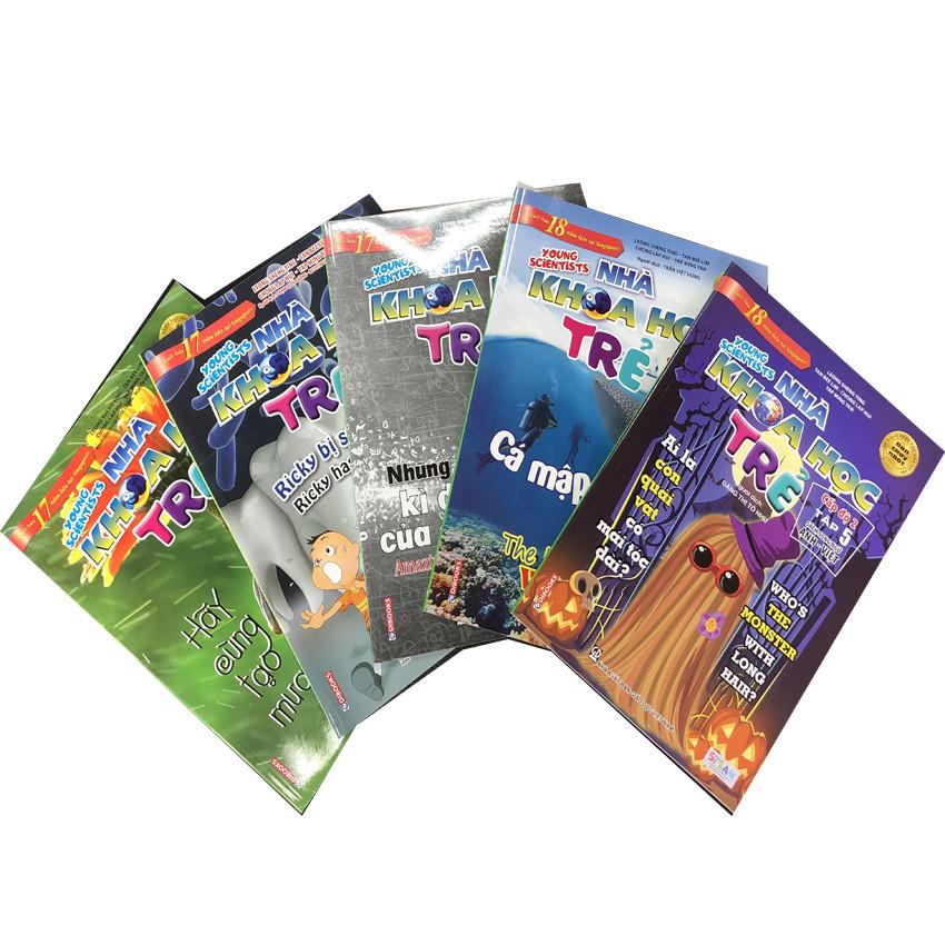 Combo Sách Song Ngữ Nhà Khoa Học Trẻ (Cấp Độ 2)