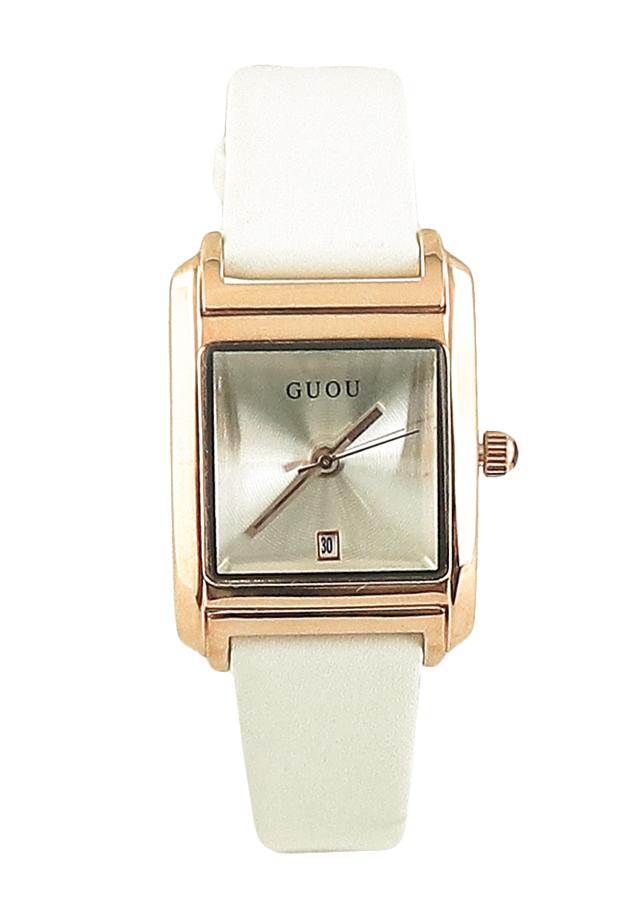 Đồng hồ nữ GUOU dây da cao cấp viền vàng quý phái mặt chữ nhật JS-G8066 - 5263029 , 1837027966373 , 62_3643087 , 900000 , Dong-ho-nu-GUOU-day-da-cao-cap-vien-vang-quy-phai-mat-chu-nhat-JS-G8066-62_3643087 , tiki.vn , Đồng hồ nữ GUOU dây da cao cấp viền vàng quý phái mặt chữ nhật JS-G8066