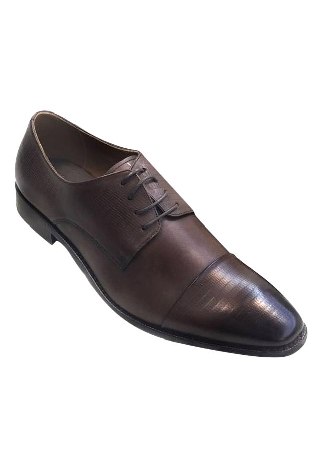 Giày Tây Buộc Dây Ts.Milan TH6128 - Nâu