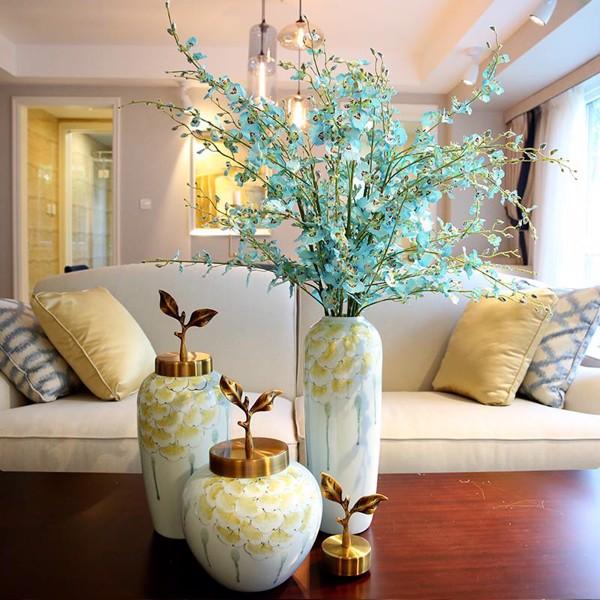 Set 3 lọ gốm nắp đồng hoa Sen trang trí nhà cửa ( lọ hoa trang trí) - 1836493 , 1767118934380 , 62_13767166 , 3800000 , Set-3-lo-gom-nap-dong-hoa-Sen-trang-tri-nha-cua-lo-hoa-trang-tri-62_13767166 , tiki.vn , Set 3 lọ gốm nắp đồng hoa Sen trang trí nhà cửa ( lọ hoa trang trí)