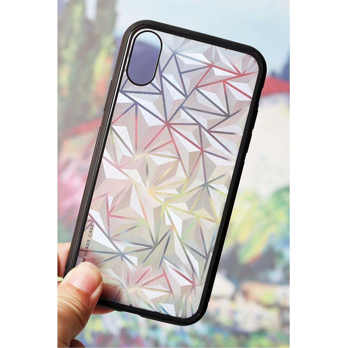 Ốp Lưng Kim Cương Dành Cho iPhone - Mẫu 2 - iPhone X