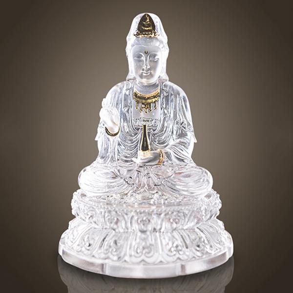 Tượng Quan Âm Lưu Ly MS057