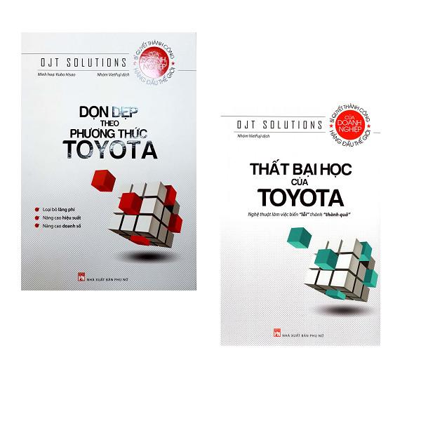 Combo Dọn Dẹp Theo Phương Thức Toyota + Thất Bại Học Của Toyota - 1279707 , 2627455162039 , 62_11960709 , 174000 , Combo-Don-Dep-Theo-Phuong-Thuc-Toyota-That-Bai-Hoc-Cua-Toyota-62_11960709 , tiki.vn , Combo Dọn Dẹp Theo Phương Thức Toyota + Thất Bại Học Của Toyota