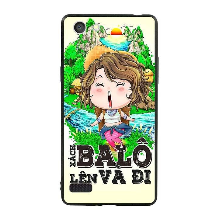 Ốp lưng viền TPU cho dành cho Oppo Neo 7 - Go Go