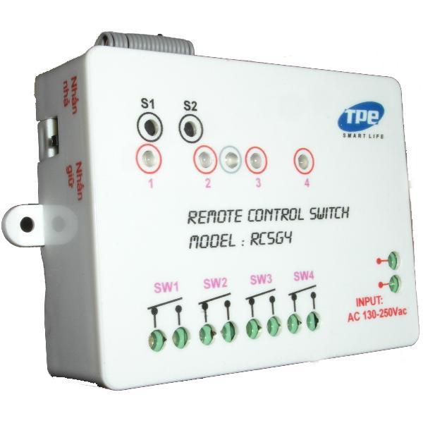 Công tắc điều khiển từ xa 4 thiết bị TPE RC5G4