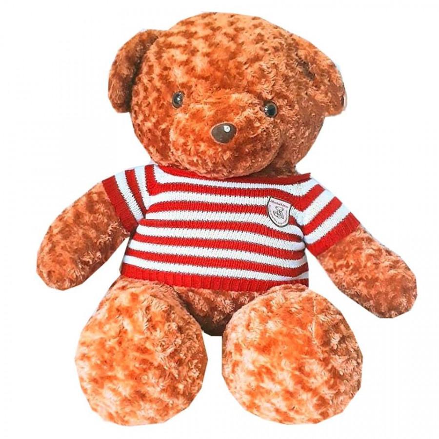 Gấu bông teddy nâu áo đỏ 1m2 - 2001893 , 6360944675301 , 62_8316778 , 1000000 , Gau-bong-teddy-nau-ao-do-1m2-62_8316778 , tiki.vn , Gấu bông teddy nâu áo đỏ 1m2