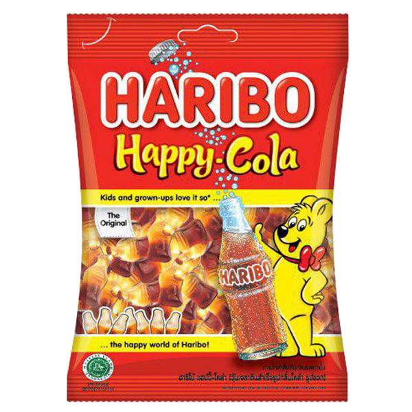 Kẹo Dẻo Haribo Happy Cola (80g)