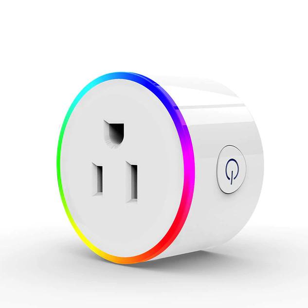 Ổ cắm thông minh điều khiển từ xa qua Wifi hoạt động với Alexa, Google Home, Hẹn giờ bật tắt theo thời gian