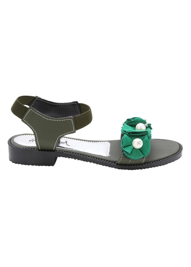 Giày Sandal Cao Gót 3P CN 004 - Rêu