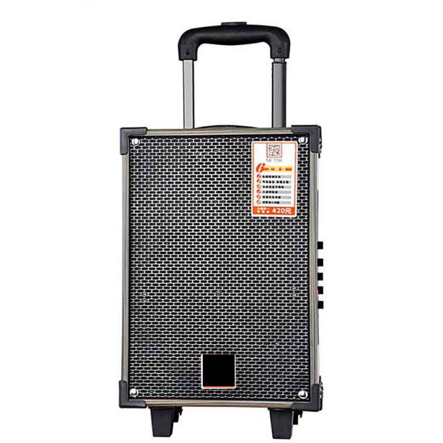 Loa kẹo kéo karaoke Bluetooth jb108 tặng kèm 1 micro có nút bass treble