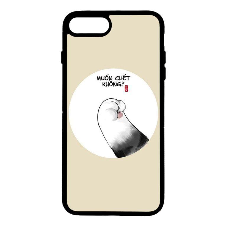 Ốp lưng dành cho điện thoại Iphone 8 Plus Muốn Chết Không