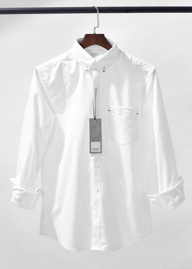 Áo sơ mi nam Oxford dài tay cổ bẻ có túi ngực vải cotton nhập khẩu Hàn Quốc hãng thời trang nam Routine - 9503639 , 9356698294278 , 62_16178052 , 450000 , Ao-so-mi-nam-Oxford-dai-tay-co-be-co-tui-nguc-vai-cotton-nhap-khau-Han-Quoc-hang-thoi-trang-nam-Routine-62_16178052 , tiki.vn , Áo sơ mi nam Oxford dài tay cổ bẻ có túi ngực vải cotton nhập khẩu Hàn Qu