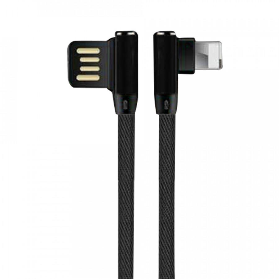 Dây Cáp Sạc Nhanh Và Truyền Dữ Liệu Đầu Micro USB Vuông Góc 90 Độ Cho iOS