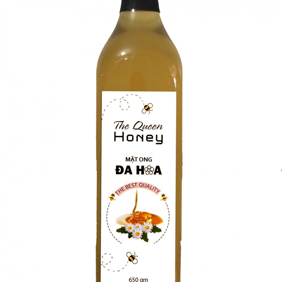 Mật ong đa hoa The Queen Honey 650gm