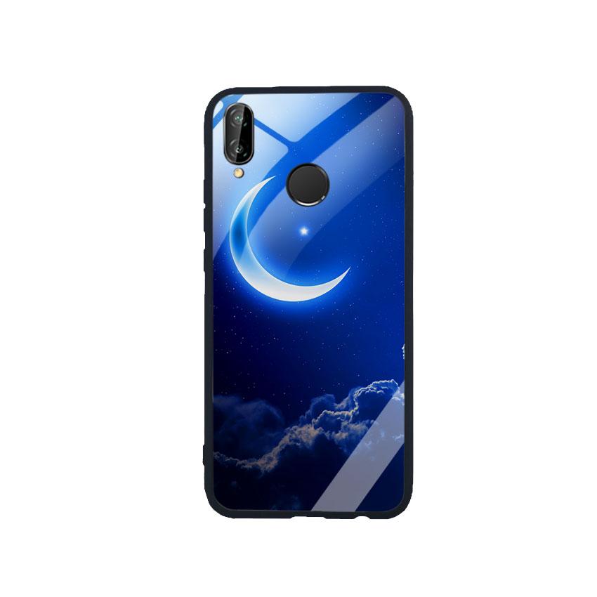 Ốp Lưng Kính Cường Lực cho điện thoại Huawei Nova 3e -  0220 MOON01
