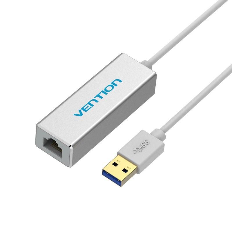 Cáp chuyển đổi USB 3.0 sang LAN Rj45 Vention CEFIB - 1462024 , 3140841777819 , 62_13809496 , 385000 , Cap-chuyen-doi-USB-3.0-sang-LAN-Rj45-Vention-CEFIB-62_13809496 , tiki.vn , Cáp chuyển đổi USB 3.0 sang LAN Rj45 Vention CEFIB