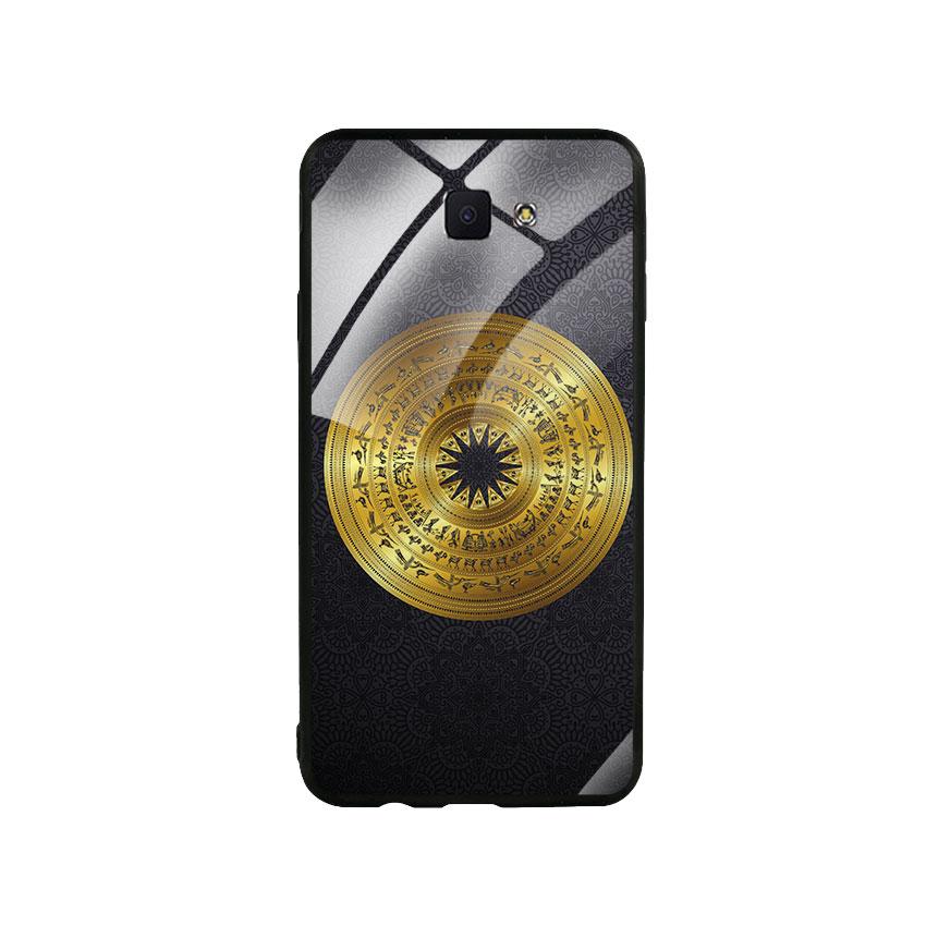 Ốp Lưng Kính Cường Lực cho điện thoại Samsung Galaxy J7 Prime - Trống Đồng 05
