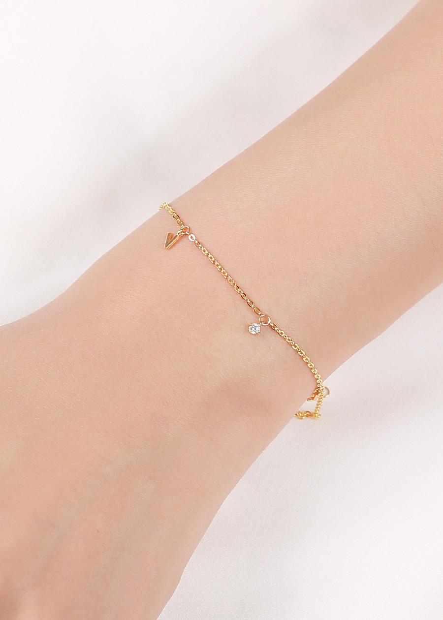 Lắc Tay Nữ Vàng Huy Thanh Jewelry LLF66