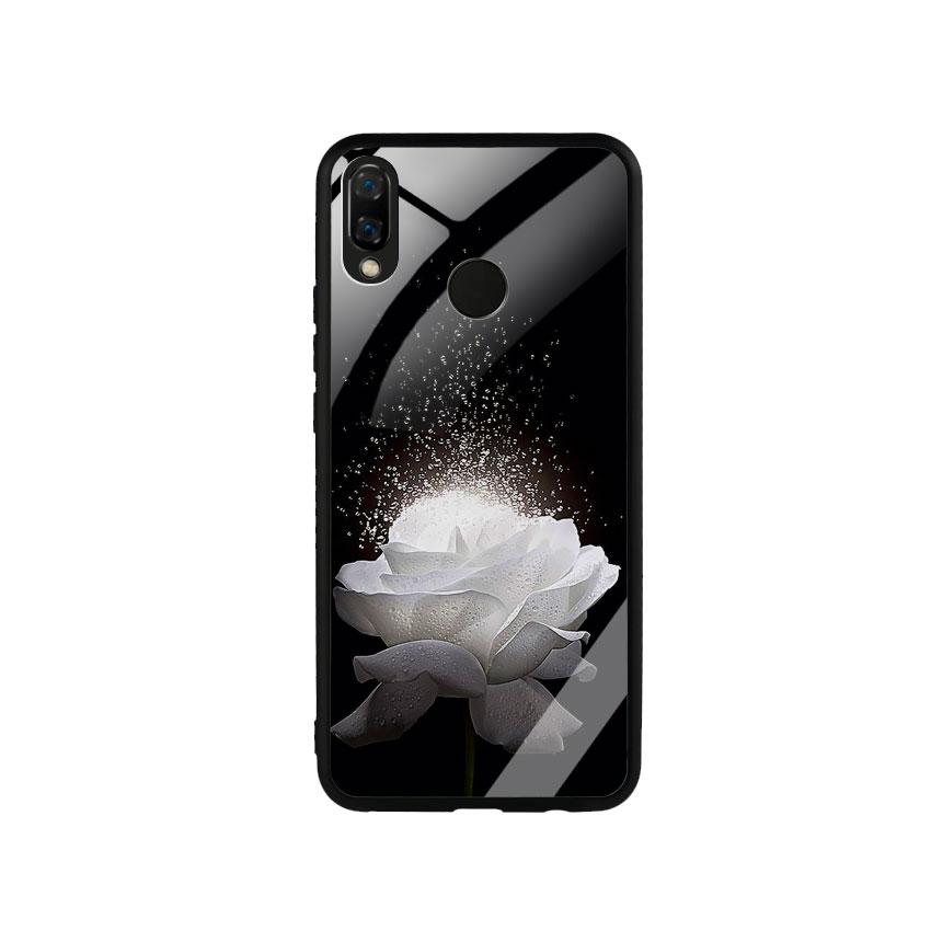 Ốp Lưng Kính Cường Lực cho điện thoại Huawei Nova 3i -  0324 ROSE03
