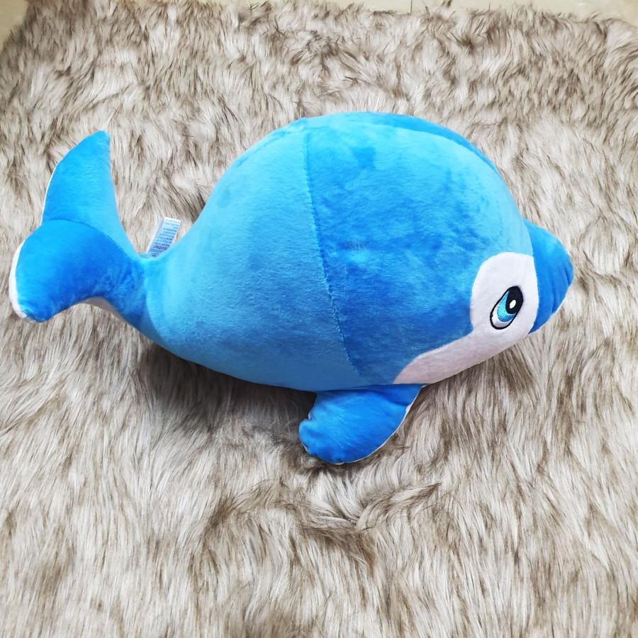 Thú nhồi bông cá heo xanh size 35cm - 18519832 , 4823726586513 , 62_19879375 , 150000 , Thu-nhoi-bong-ca-heo-xanh-size-35cm-62_19879375 , tiki.vn , Thú nhồi bông cá heo xanh size 35cm