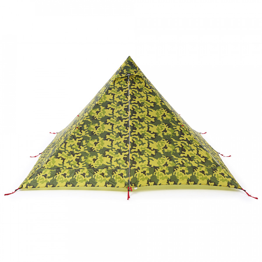 Ultralight 2 Person Tent Portable Backpacking Tent Double-Side Silicone Coating Water-resistant Outdoor Camping Tent