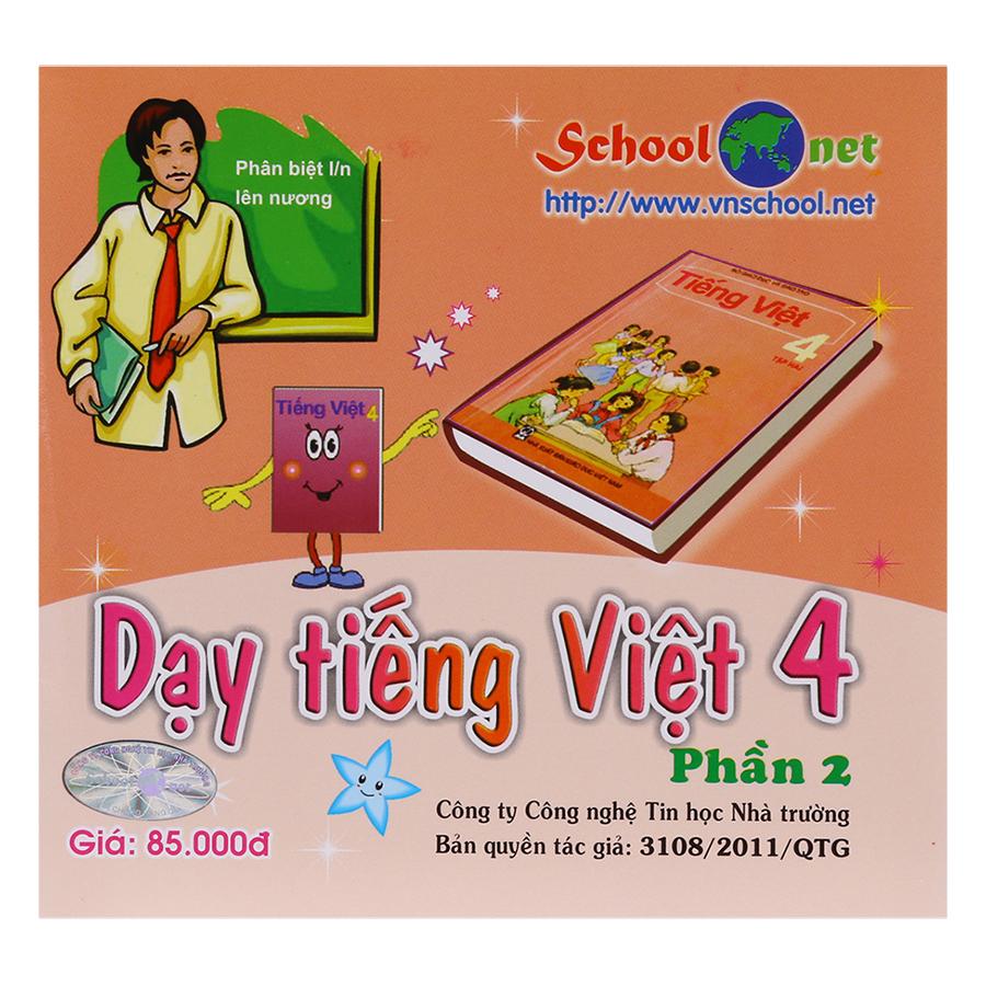 Phần Mềm Dạy Tiếng Việt 4 Phần 2 DTV4P2