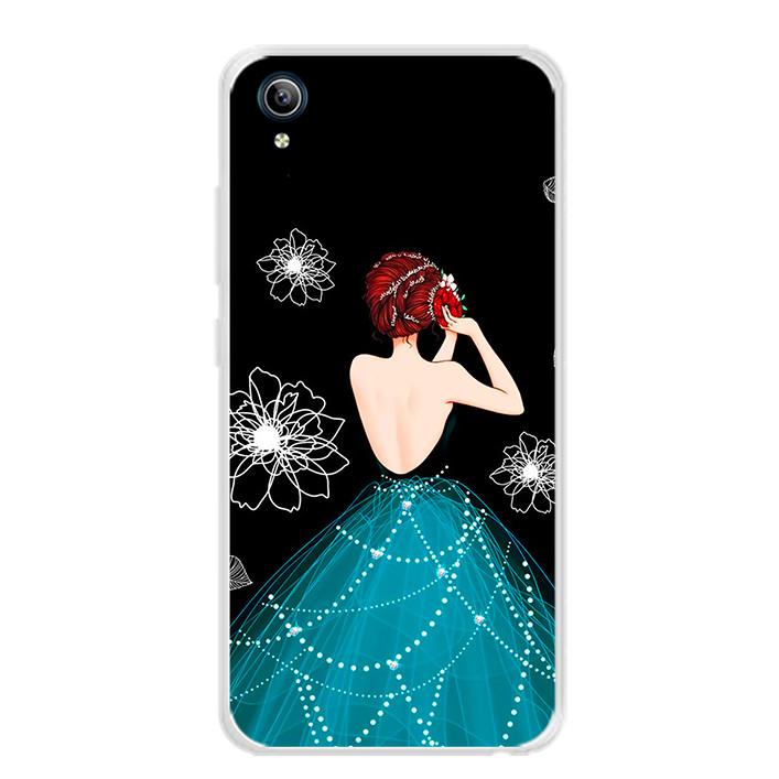 Ốp lưng dẻo cho điện thoại Vivo Y91C - 0105 GIRL04 - Hàng Chính Hãng
