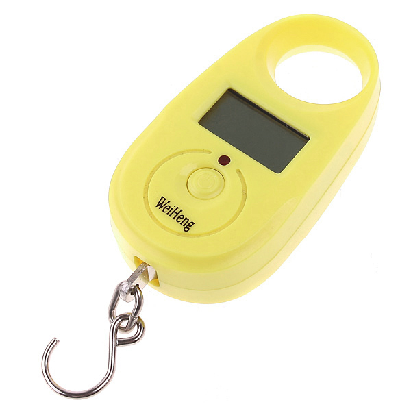 Portable LCD Electronic Digital Hook Hanging Luggage Scale Weight 25kg x 5g