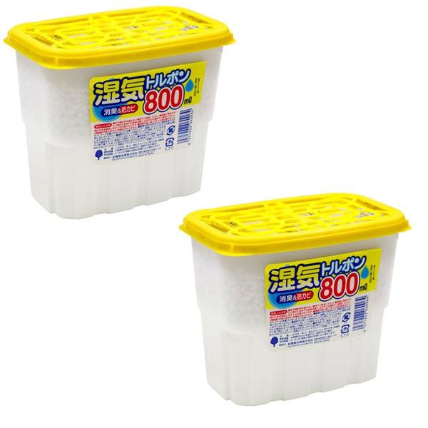 Combo 2 hộp hút ẩm 800ml nội địa Nhật Bản