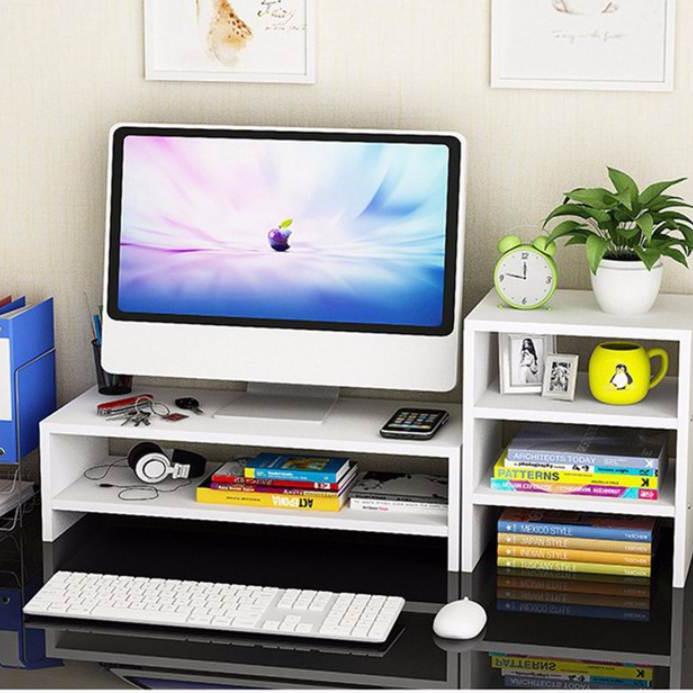Kệ gỗ để màn hình 2 tầng, có ngăn tủ phụ bên cạnh - 7789969 , 8821115773304 , 62_16335363 , 990000 , Ke-go-de-man-hinh-2-tang-co-ngan-tu-phu-ben-canh-62_16335363 , tiki.vn , Kệ gỗ để màn hình 2 tầng, có ngăn tủ phụ bên cạnh