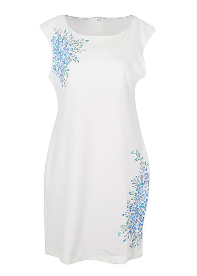 Đầm Kiểu Nữ An Thủy 610-M3 - Trắng