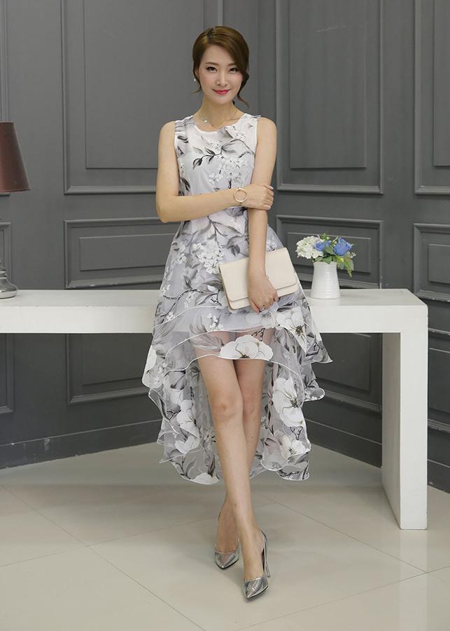 Đầm Dự Tiệc Đuôi Tôm D7211