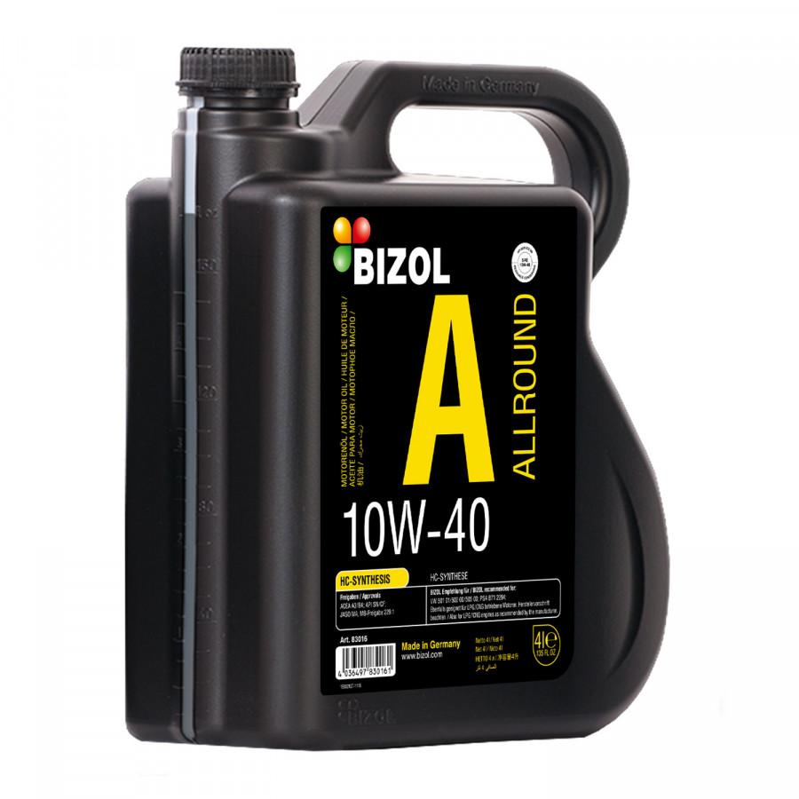 Dầu động cơ ô tô Bizol Allround 10W-40 (can 4L)