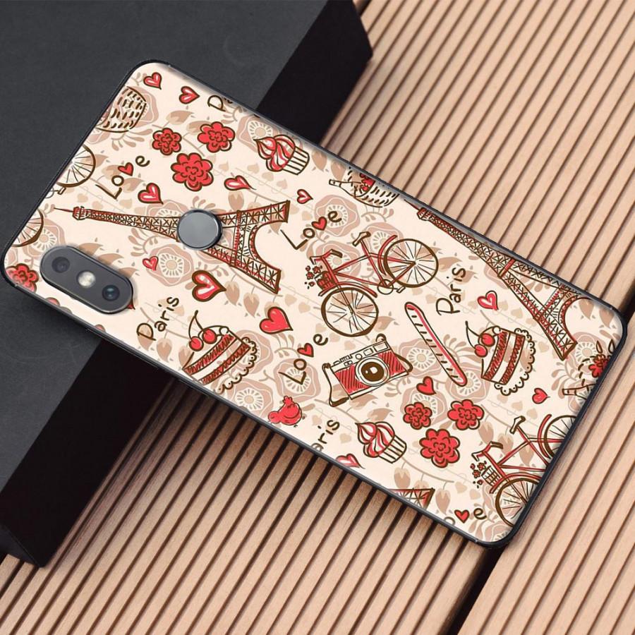Ốp lưng dành cho Xiaomi Mi Mix 2S mẫu Tháp Eiffel