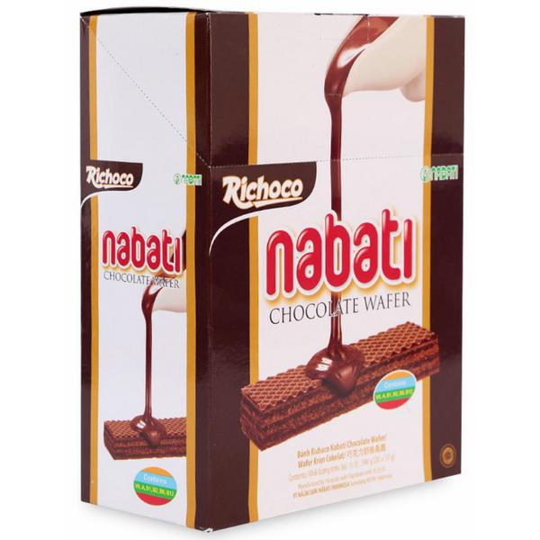 Bánh Xốp Richoco Nabati Chocolate Wafer (340g)