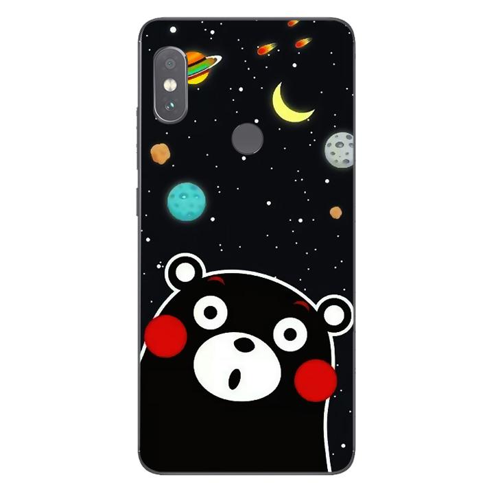 Ốp lưng dẻo Nettacase cho điện thoại Xiaomi Redmi Note 5 Pro_0345 BEAR03 - Hàng Chính Hãng