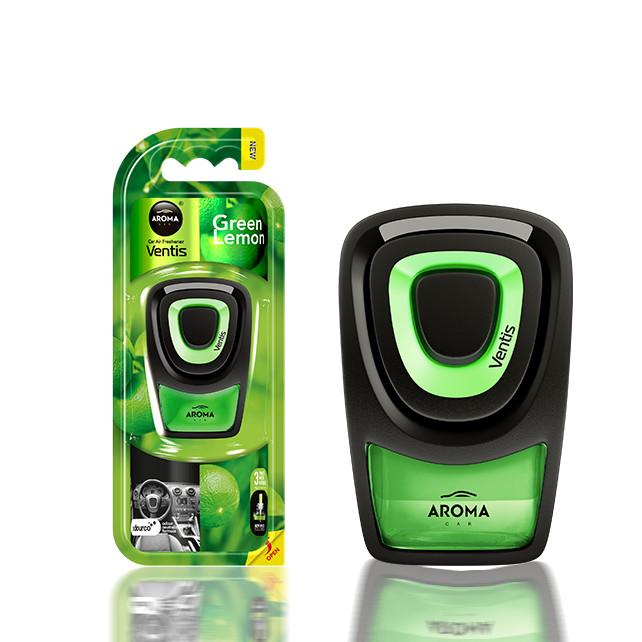 Nước hoa Kẹp cửa gió ô tô Aroma Car Ventis - Lemon Green