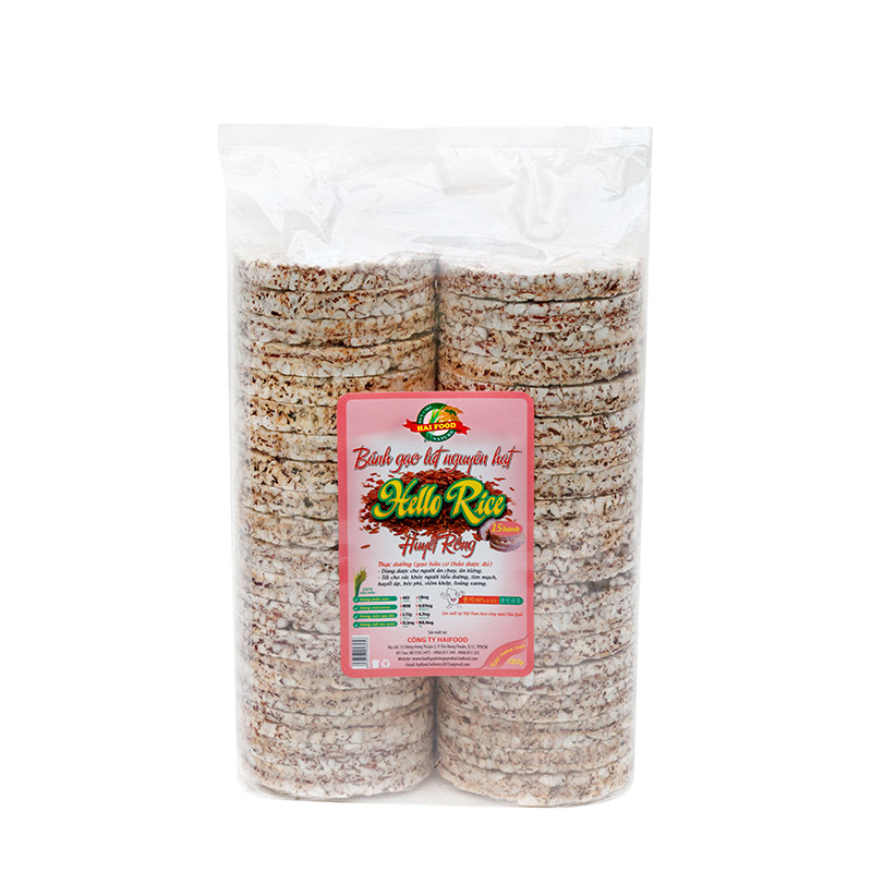 Bánh gạo lứt 300g Hellorice - 1028528 , 8443537521433 , 62_6041965 , 55000 , Banh-gao-lut-300g-Hellorice-62_6041965 , tiki.vn , Bánh gạo lứt 300g Hellorice