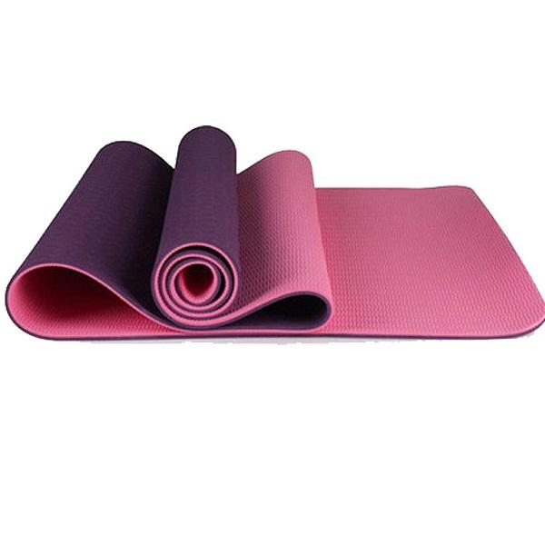 Thảm tập yoga cao cấp 2 lớp 6mm TT-Mart